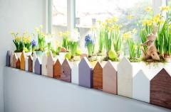 Wielkanocny ogródek na parapecie - DIY