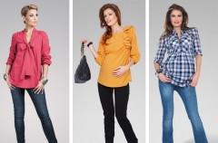 Wiosenna moda ciążowa - trendy 2012