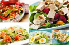 Wiosenne sałatki - smaczne i zdrowe