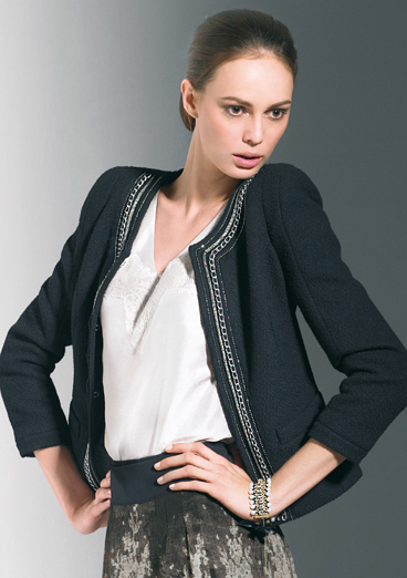 Żakiet Marks&Spencer w stylu Chanel