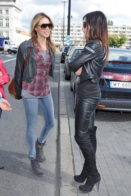 Maja Sablewska z Mariną Łuczenko/ fot. MWmedia