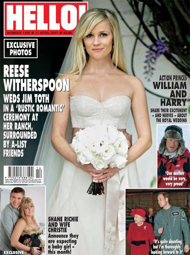 Suknia ślubna Reese Witherspoon Zobacz Suknie ślubne I Dodatki
