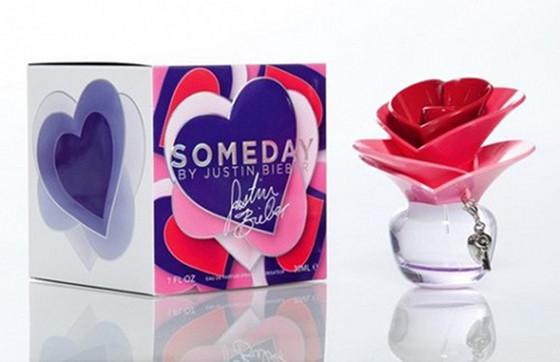 "Perfumy Justina Bibera ""Someday"" /fot. Materiały prasowe"
