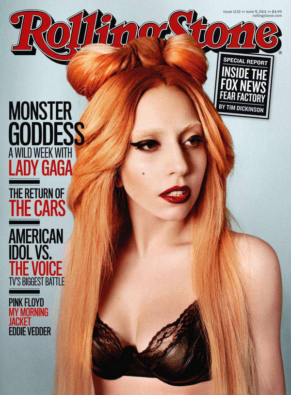 """Lady Gaga na okładce majowego """"Rolling Stone"""" /fot. Ryan McGinley/Rolling Stone"""