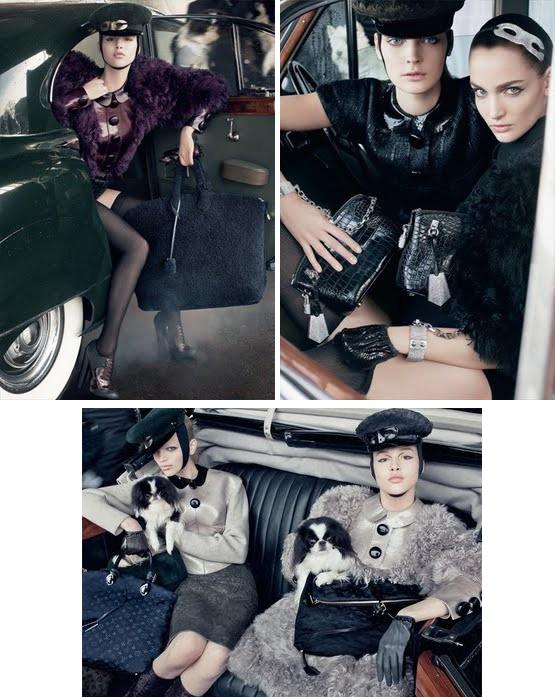 Zuzanna Bijoch dla Louis Vuitton /fot.  Steven meisel