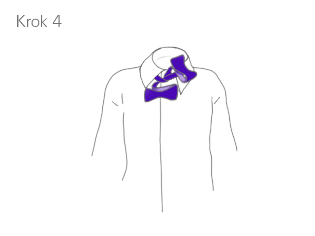 Krok 4 - Klasyczne wiązanie muszki