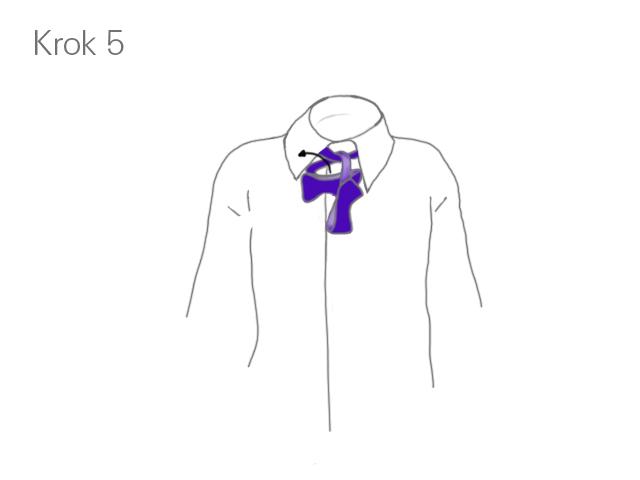 Krok 5 - Klasyczne wiązanie muszki