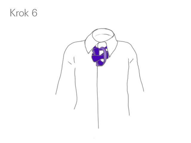 Krok 6 - Klasyczne wiązanie muszki