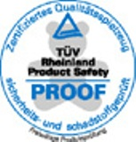 TUV Rheinland PROOF - logo