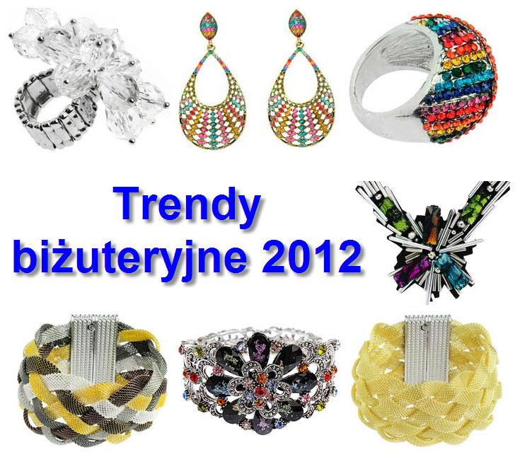 Biżuteryjne trendy 2012