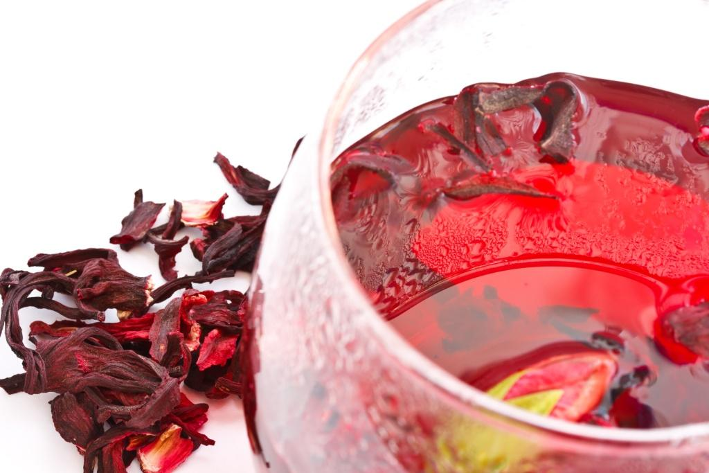 Napar z hibiskusa