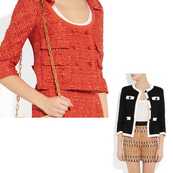 Modne żakiety w stylu Chanel