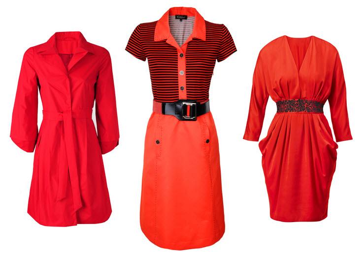 Czerwone sukienki 2012