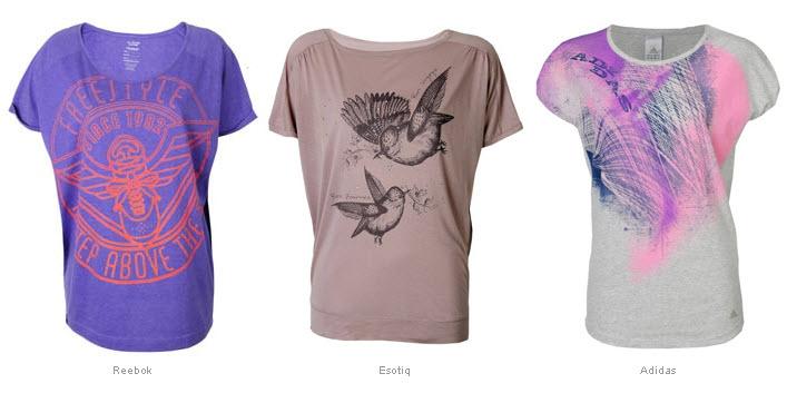 Modne T-shirty