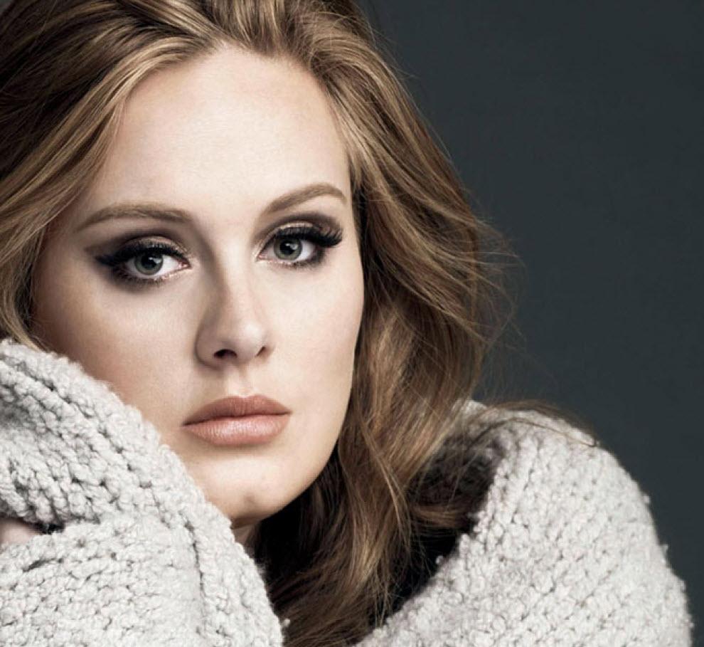 Makijaż Adele