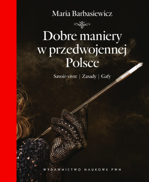 """""""Dobre maniery..."""", okładka książki"""