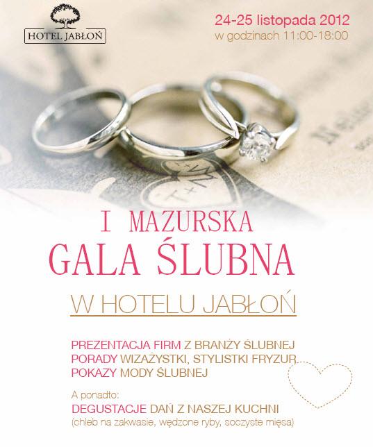 Mazurska Gala Ślubna