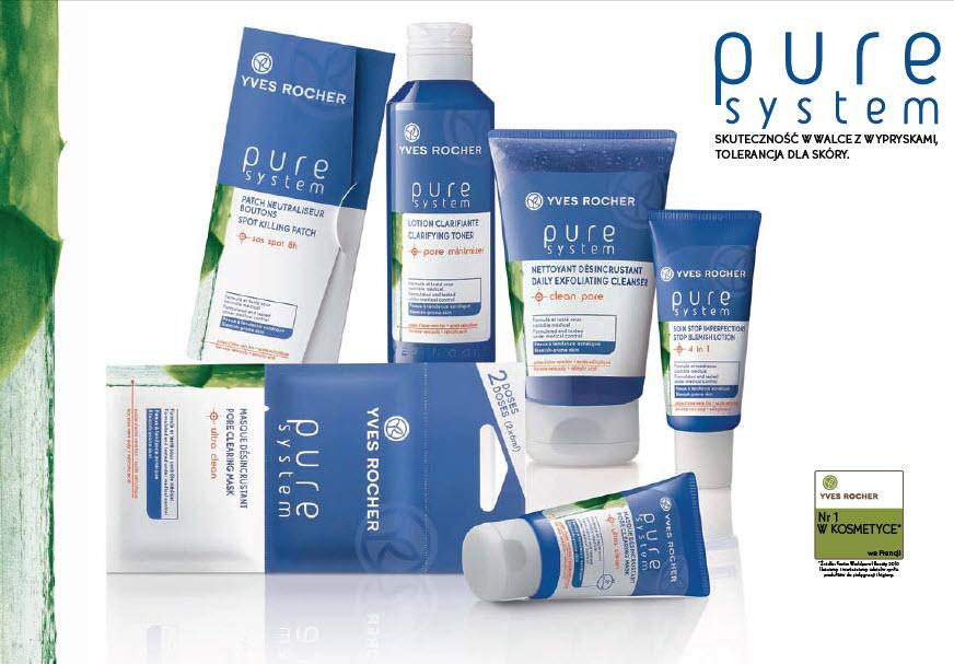 Gama kosmetyków Pure System Yves Rocher