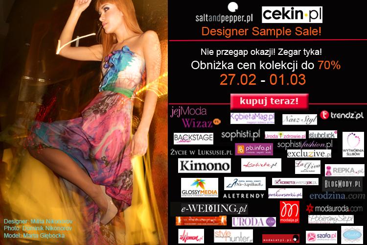 Designer Sample Sale na saltandpepper.pl