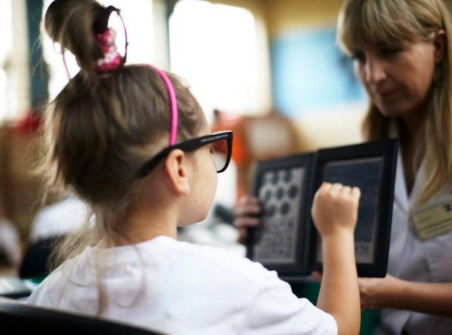 `` Школа Здорового зрения 2020 '' - бесплатные офтальмологические обследования для детей