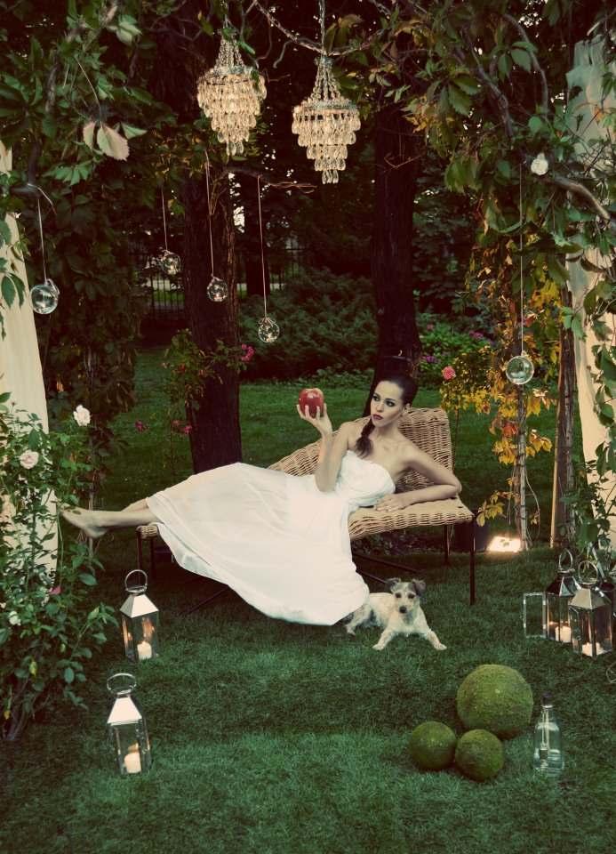 Trendy w modzie ślubnej - jedwab