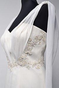 Koronki w modzie ślubnej