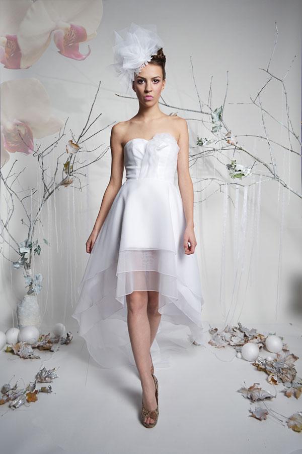 Króka suknia ślubna