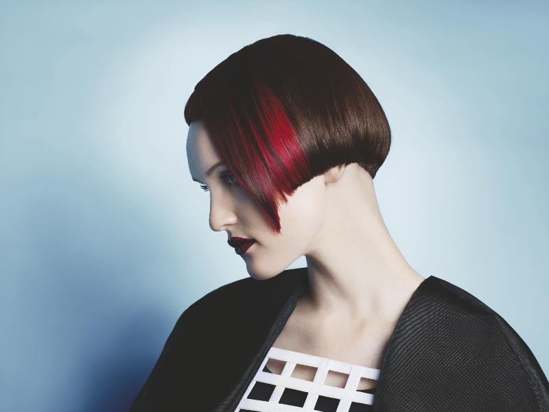 Trójwymiarowe cięcie i kolor - fryzury krótkie