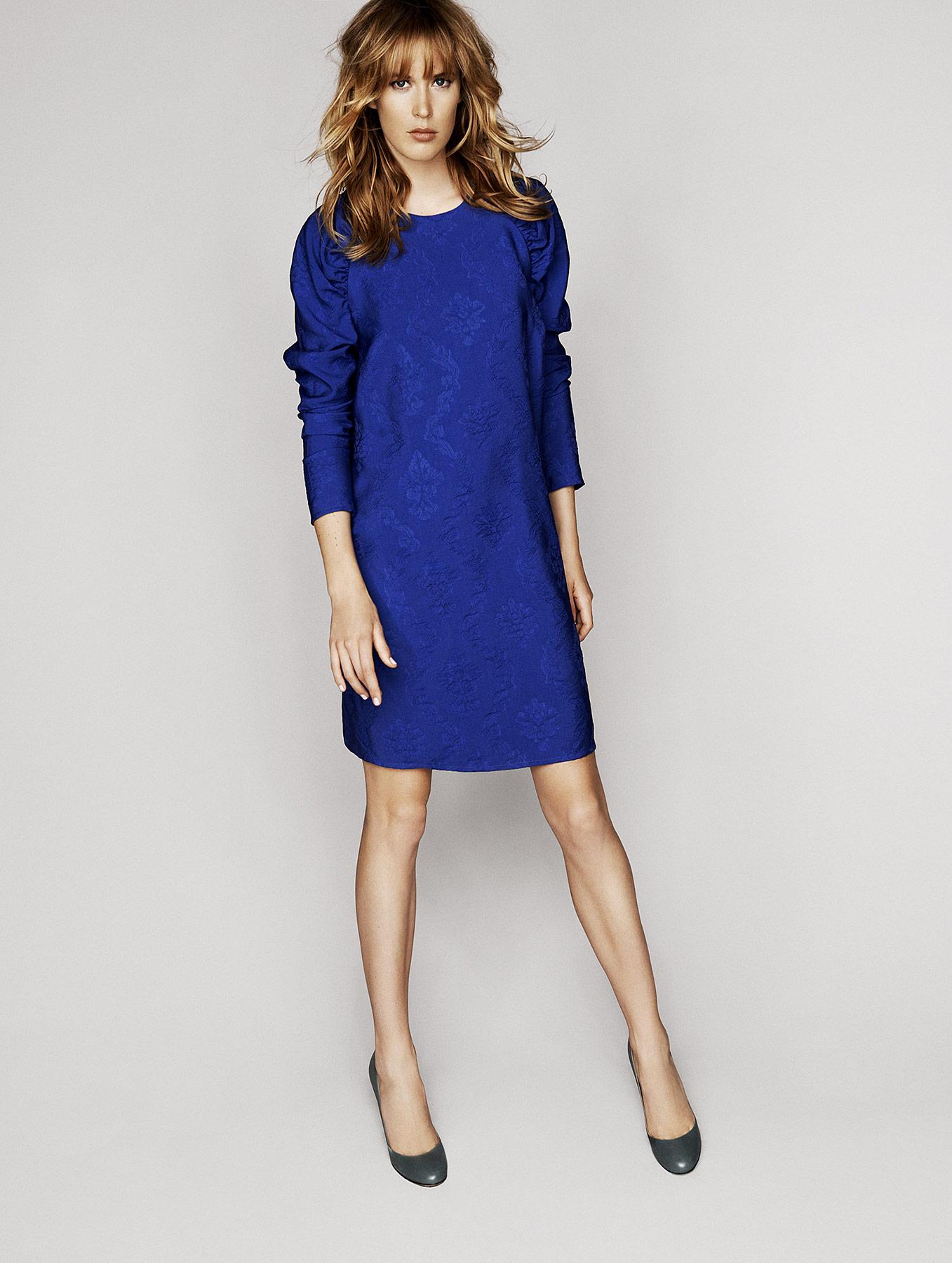 Chabrowa sukienka Deni Cler