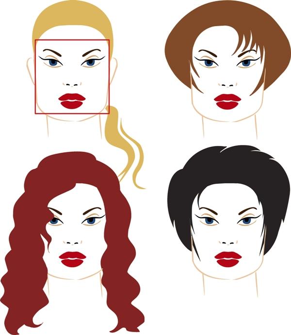 Fryzury dla twarzy o ostrych rysach