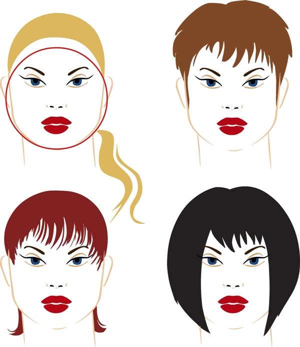 Fryzury dla okragłej twarzy