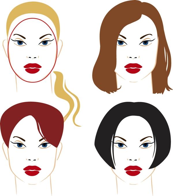 Fryzury dla owalnej twarzy