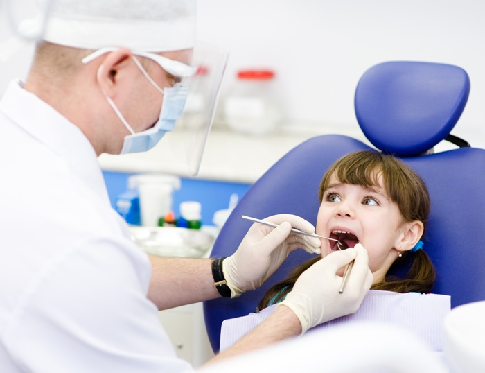 zęby dziecka