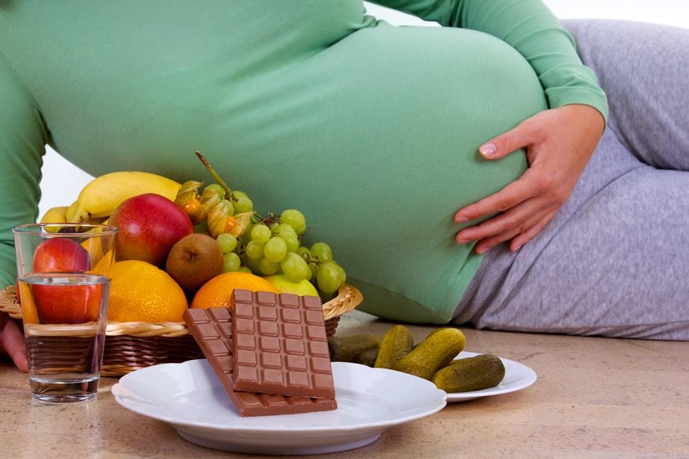 mity na temat odżywiania w ciąży