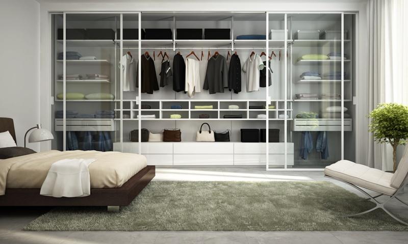 Garderoba W Sypialni Różne Rozwiązania Aranżacje Wnętrz