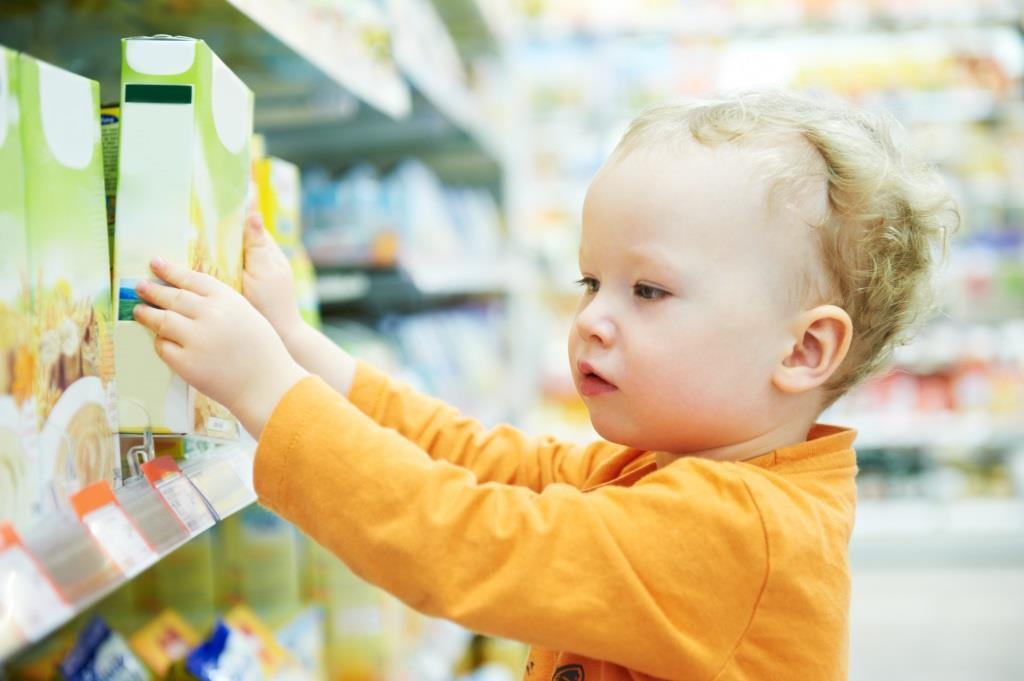 Zakupy przyspieszają rozwój dziecka