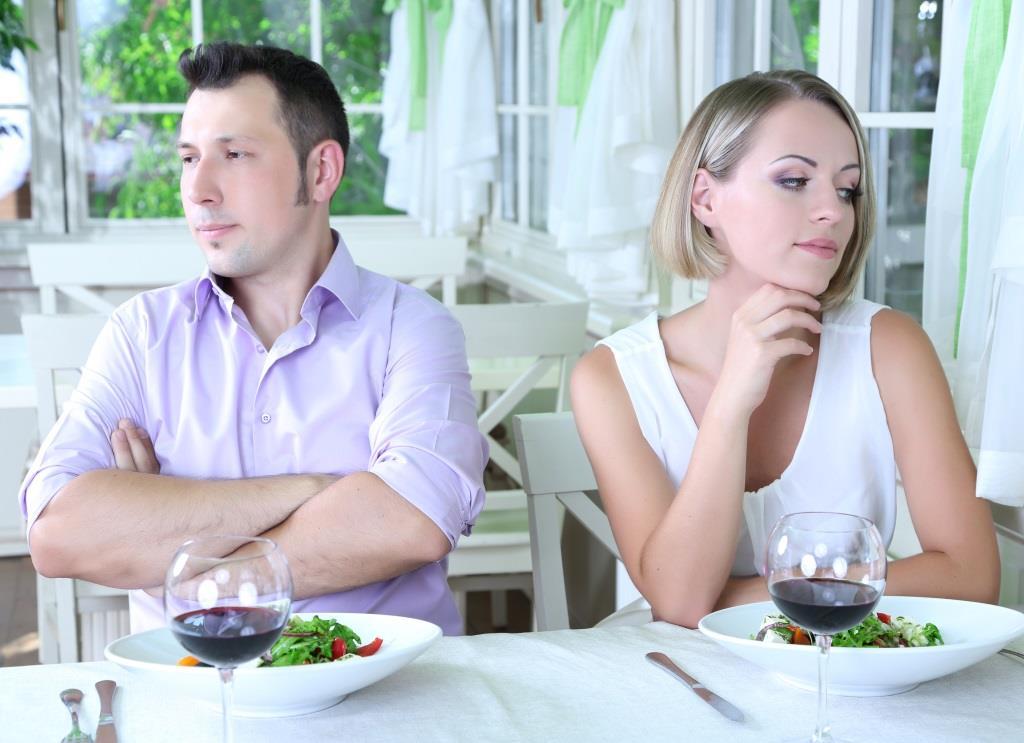 kłótnia przy stole