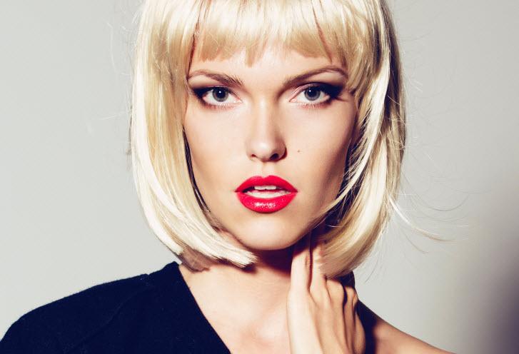 modny blond