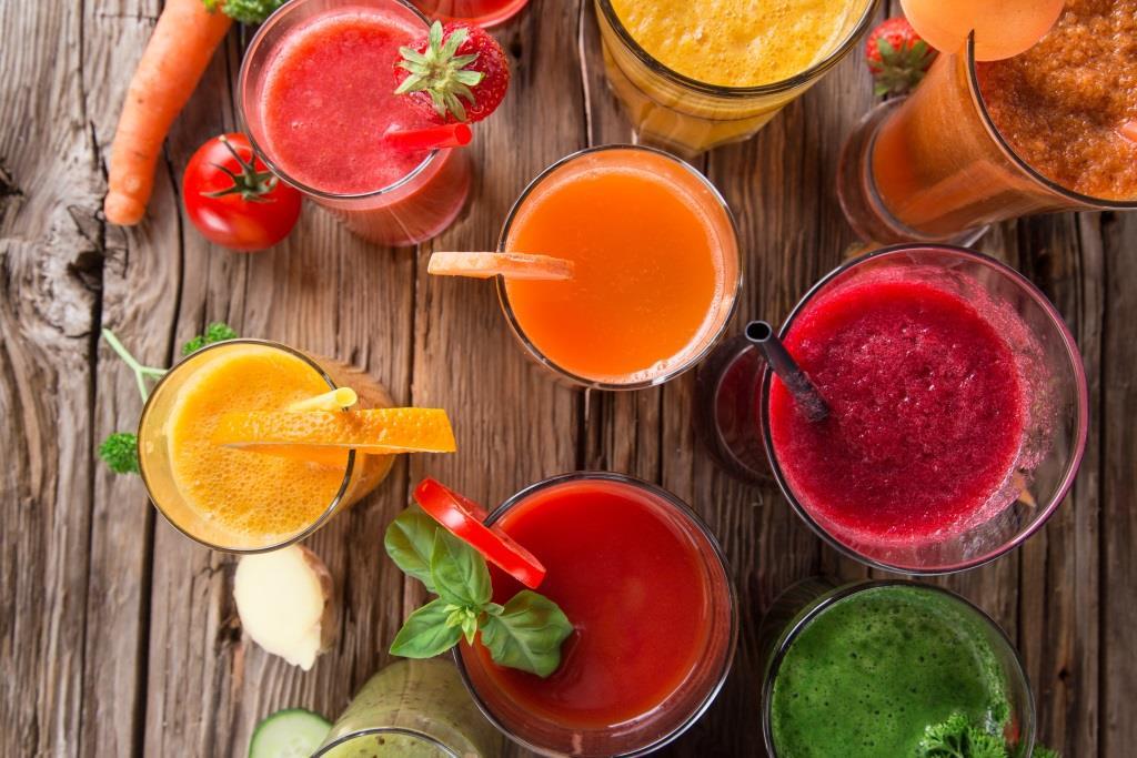 oczyszczające soki warzywne