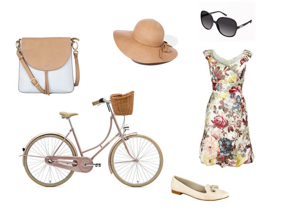 modne stylizacje na rower miejski