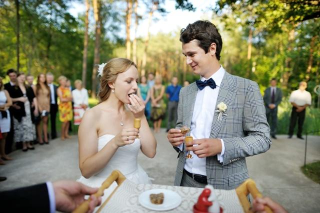 powitanie młodej pary