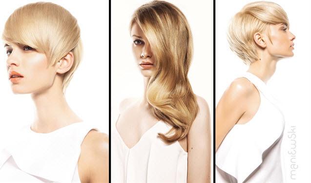 fryzury blond jesień 2014