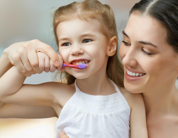 mycie zębów