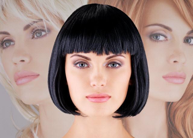 fryzura dobrana do kształtu twarzy