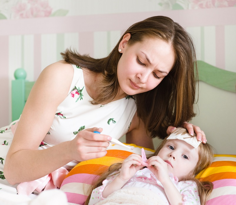 przeziebienie u dziecka