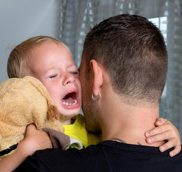 płacz dziecka