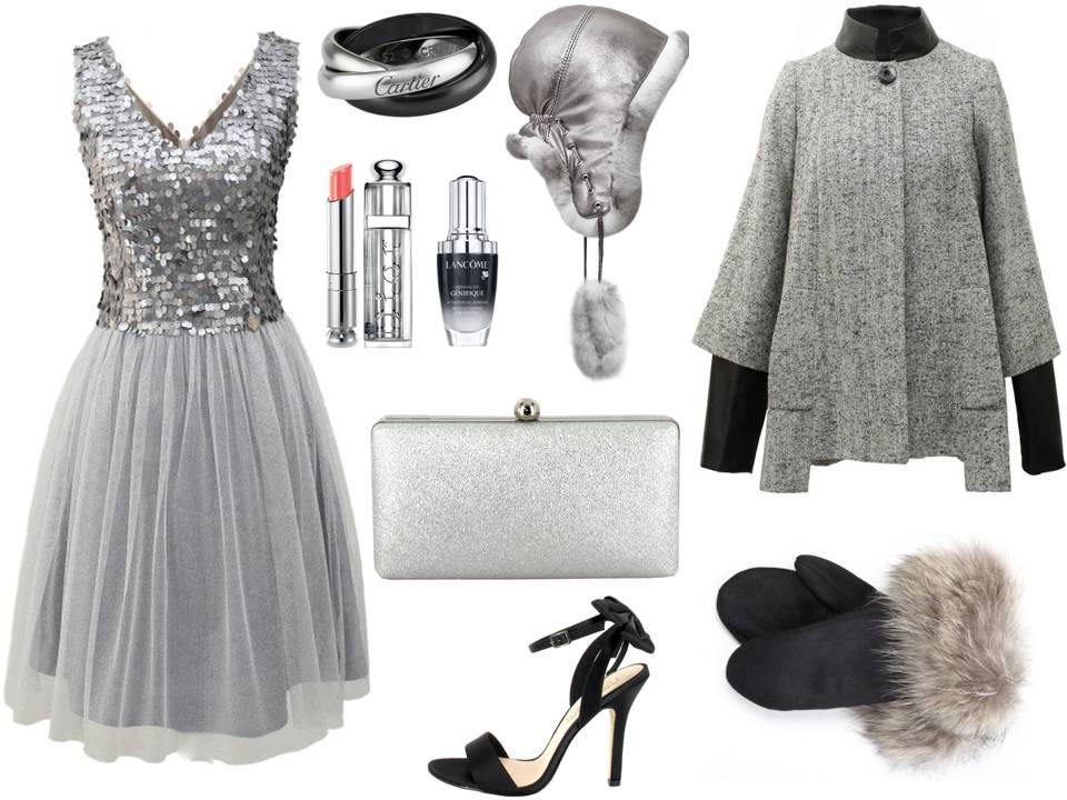 Szare Sukienki W Jesiennych Stylizacjach Jak Się Ubrać Polkipl