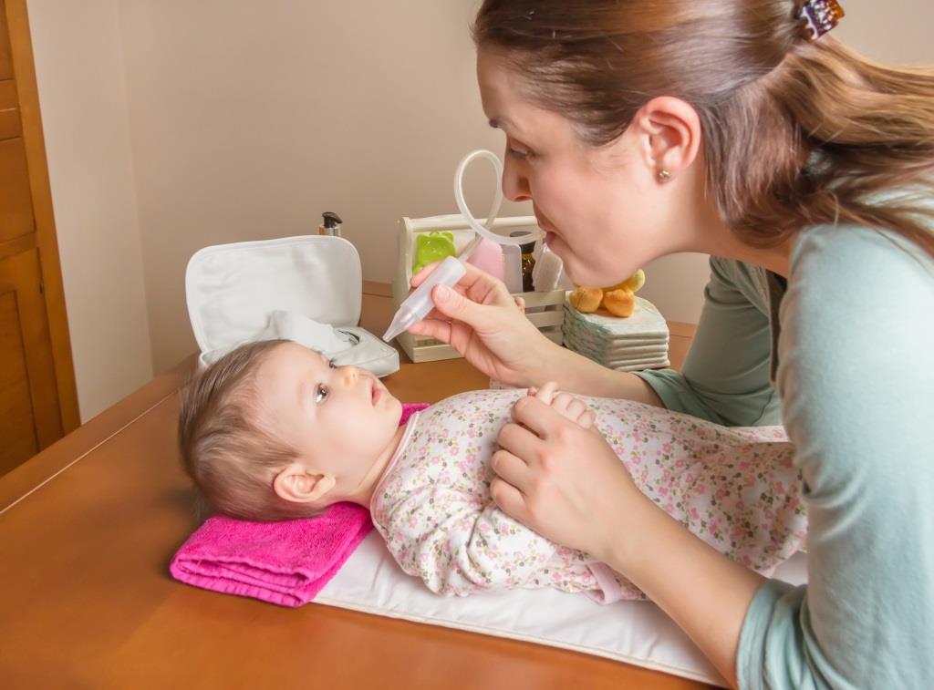 katar u niemowlęcia