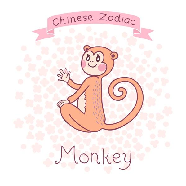 małpa chińskie znaki zodiaku