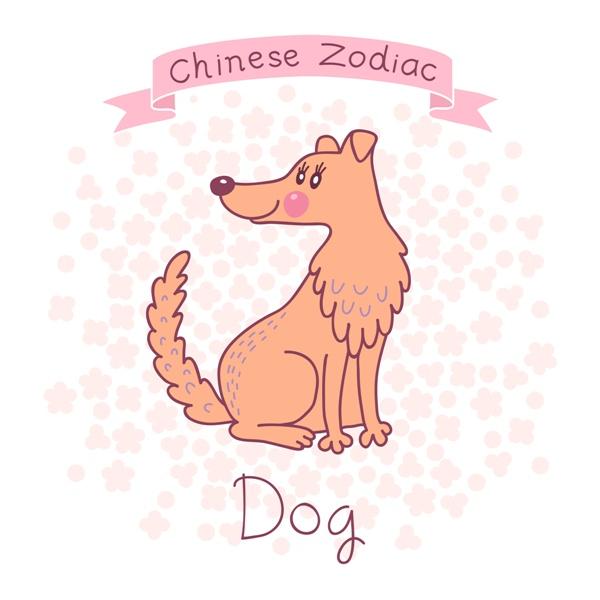pies chińskie znaki zodiaku
